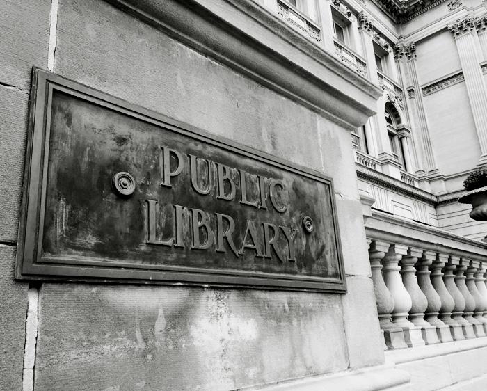 Lazy Saturday: Milwaukee Public Library