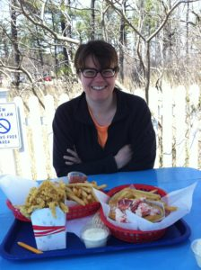 At Bob's Clam Shack in Kittery