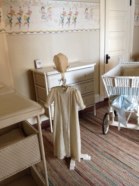 Christening Gown at the John Fitzgerald Kennedy National Historic Site