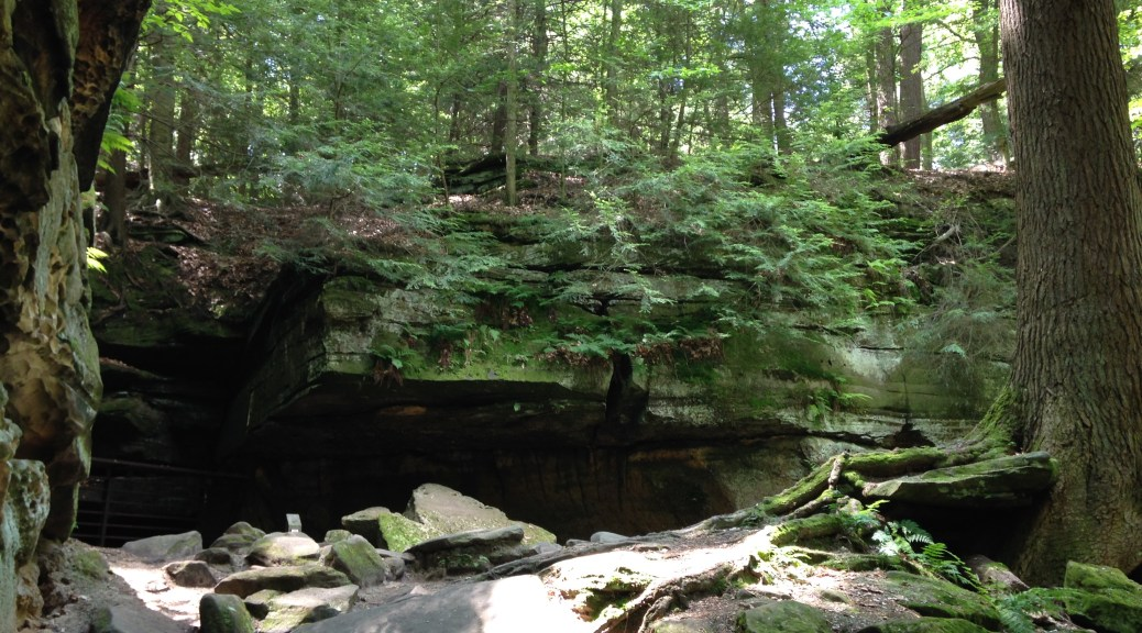 Ice Box Cave at Cuyahoga Valley National Park