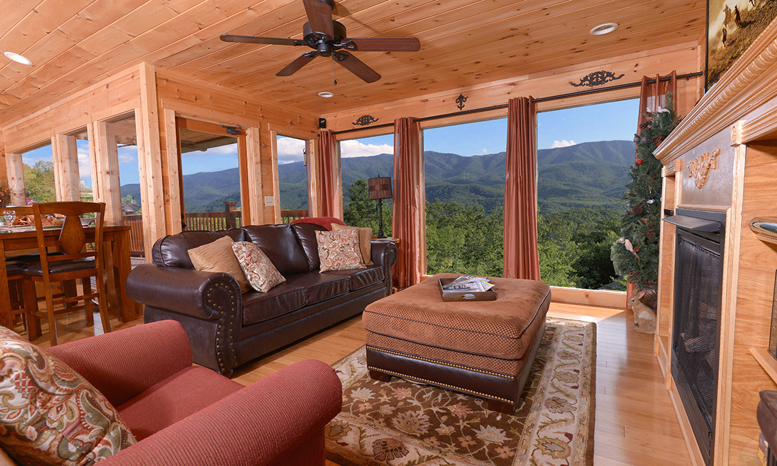 Gatlinburg Cabin Rentals  A Luxury View