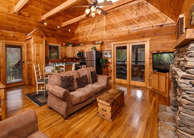 Gatlinburg Cabin Rentals Pigeon Forge Cabins 1 2 Bedrooms