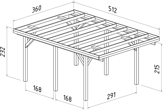Build DIY Carport kit plans PDF Plans Wooden plans for