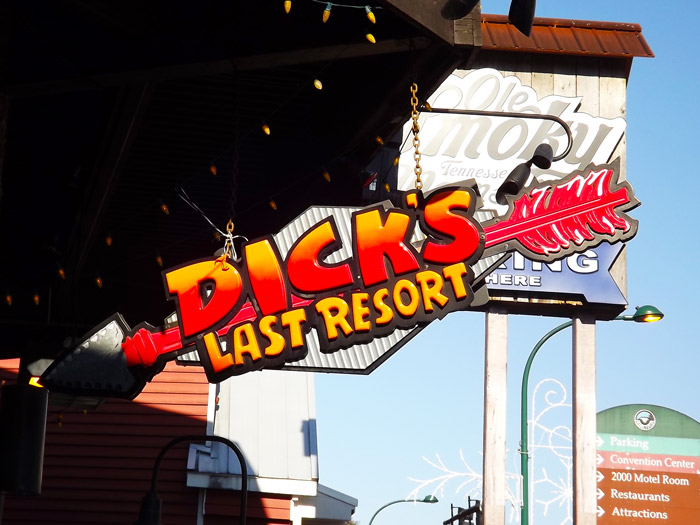 Dicks Last Resort Gatlinburg  Experience Menu and Hours
