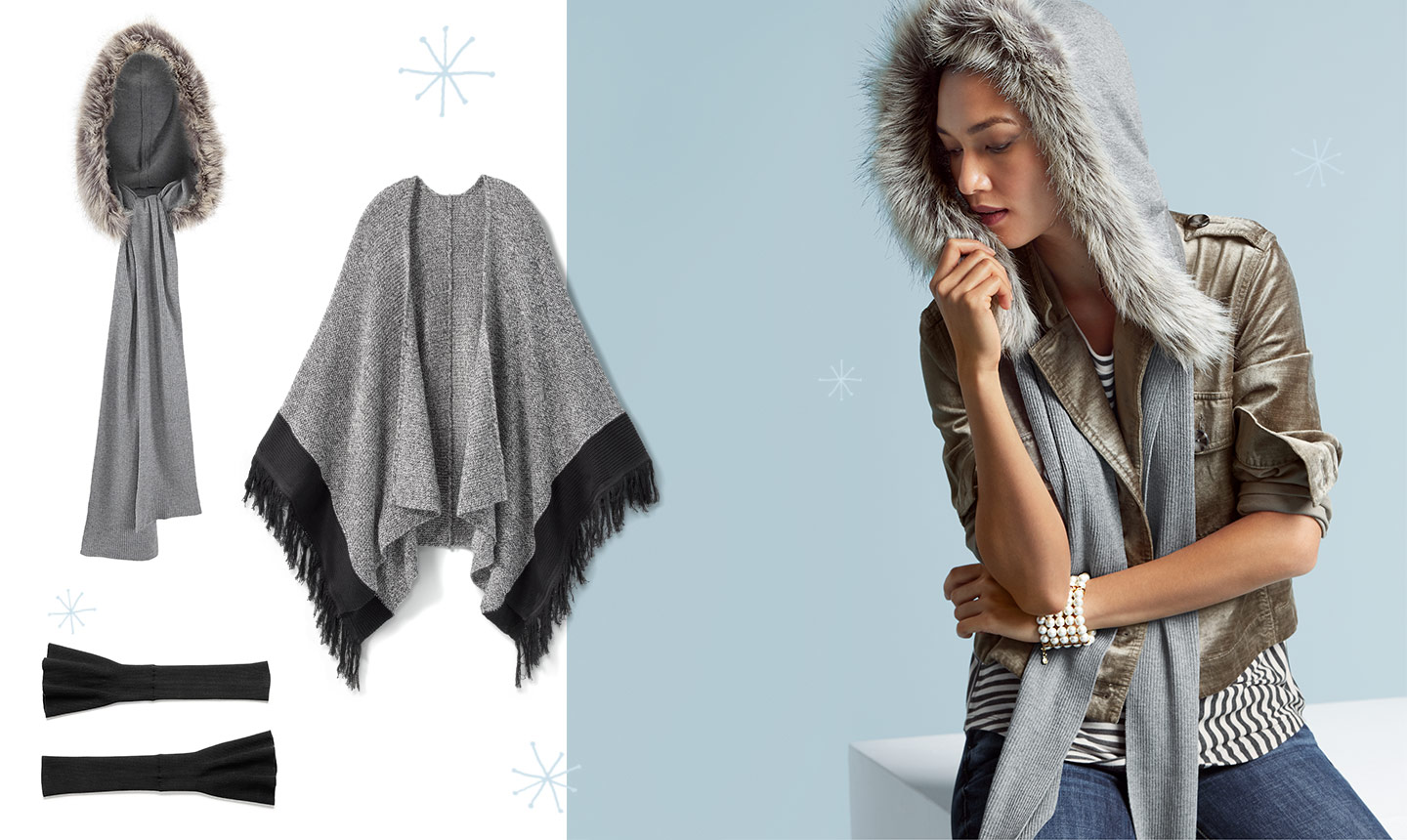 10 musthave cozy winter accessories  Cabi Spring 2019