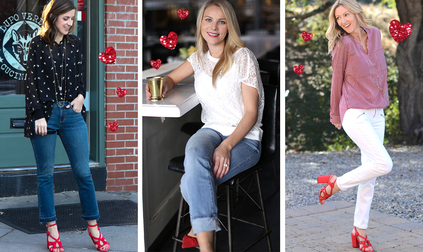 3 Sweet Valentines Day Outfit Ideas Cabi Clothing Blog