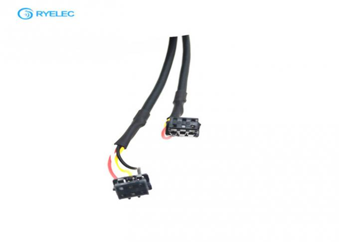 2*3 Pin Strip Tinned LVDS LCD Cable Yellow High