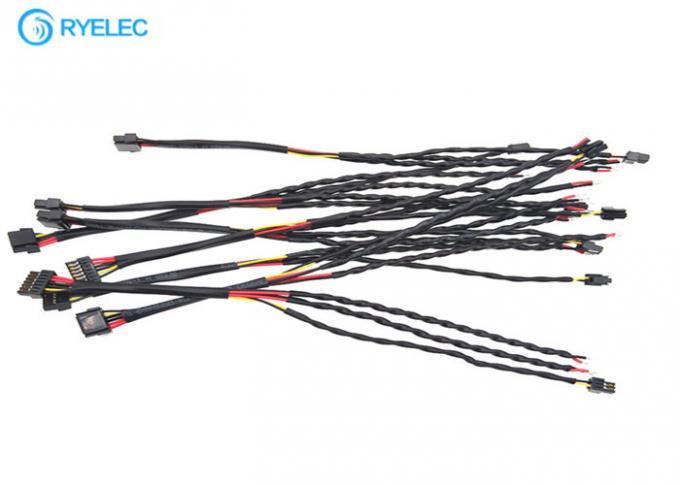 Twisted Custom Made Wiring Harness Molex 505565-0601 1