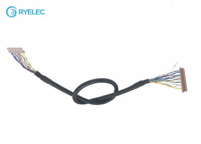 Crimping / Pressing Type LVDS Cable Assembly With DF13