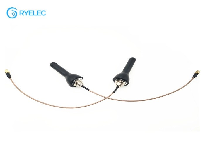 Screw Hole Mount 4G LTE Antenna Black Explosion Proof
