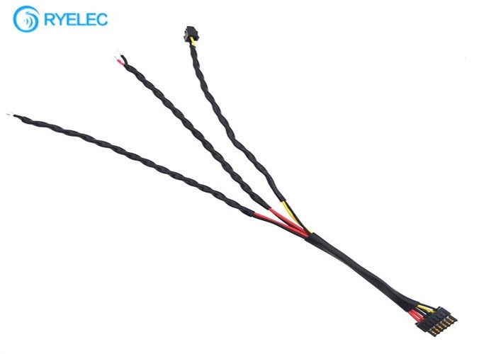 Twisted Custom Made Wiring Harness Molex 505565-0601 1