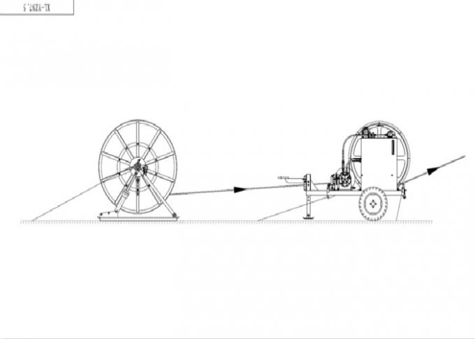Hydraulic Winch Type Cable Puller Tensioner