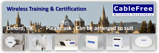 CableFree Wireless Training Courses Oxford