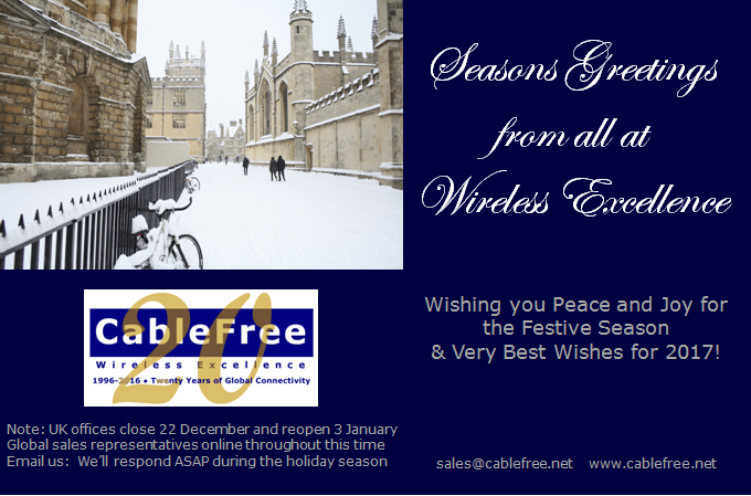 Seasons Greetings 2016