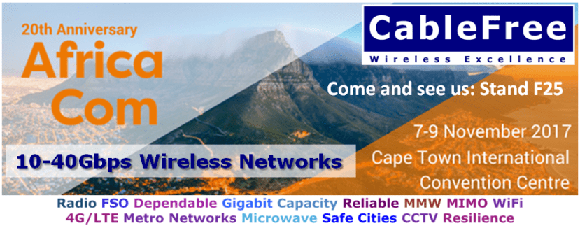 AfricaCom Invite CableFree Stand F25
