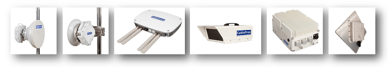 CableFree Wireless Product Range