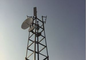 CableFree Amber Crystal Base Station installed in North Africa