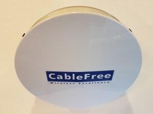 CableFree 10.5GHz Parabolic Antenna 67cm diameter