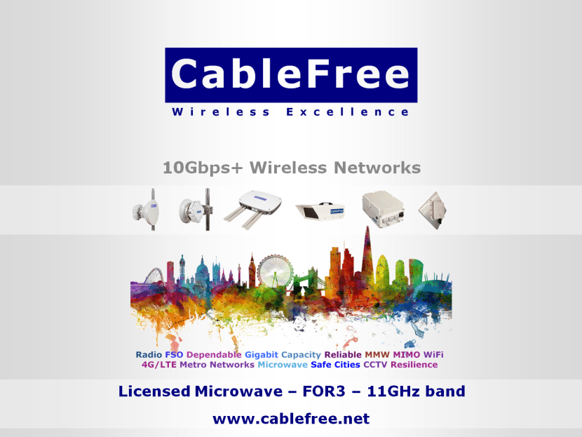 CableFree FOR3 11GHz Microwave