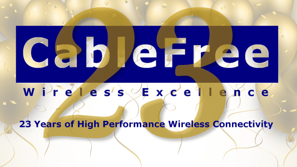 CableFree 23 Year Birthday