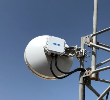 CableFree MMW links installed in the Middle East