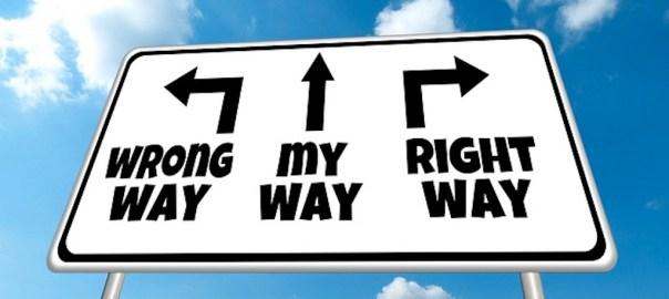 Wrong My RIght Way