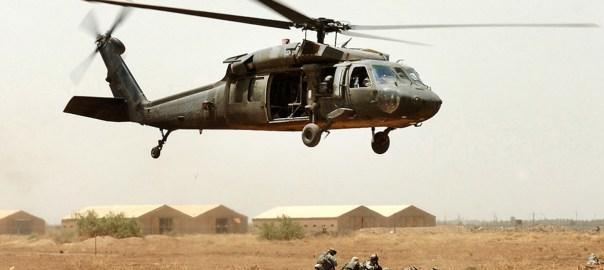 Hovering Helocopter