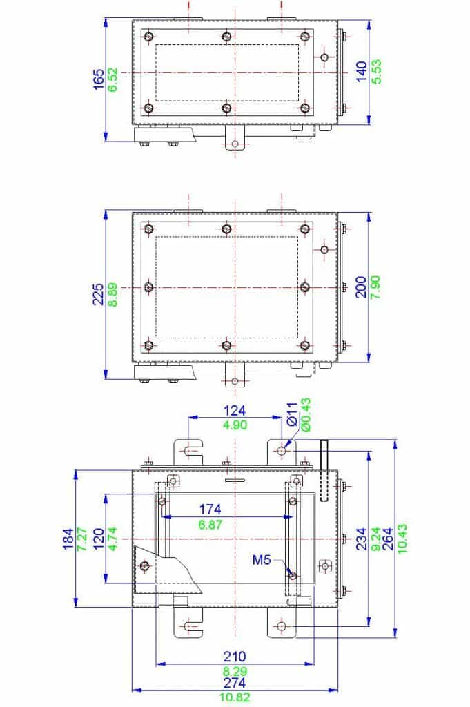 JUNCTION BOXES, ELECTRICAL ENCLOSURES, STAINLESS STEEL
