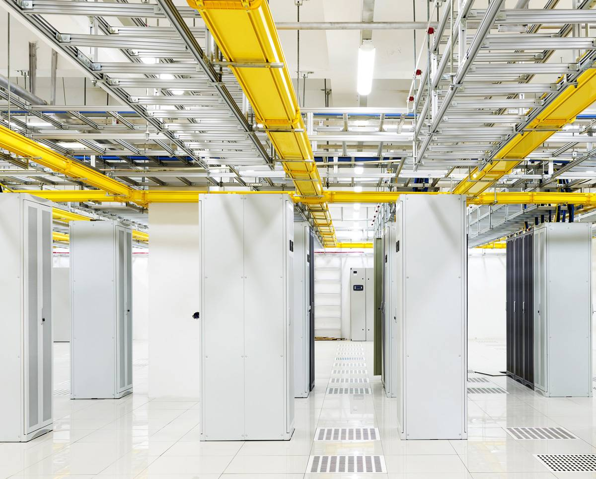 Data Center Racks, Cabinets, Cable Trays, and Aisles