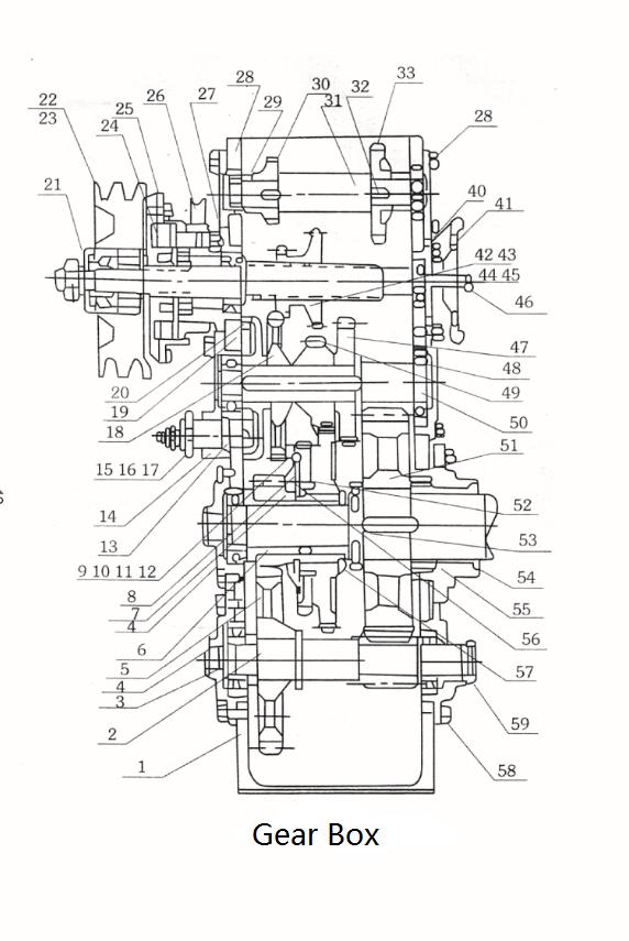 Steel Gas Engine Powered Winch 1 Ton With Yamaha Gasoline