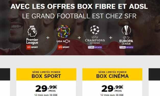 Grands changements dans les offres box de SFR