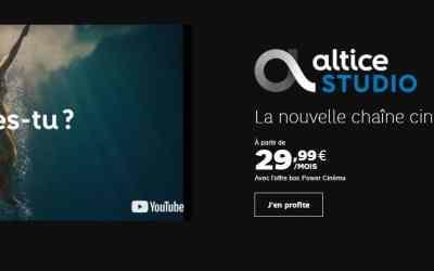 Altice Studio : tout sur la nouvelle chaîne ciné-séries d'Altice SFR