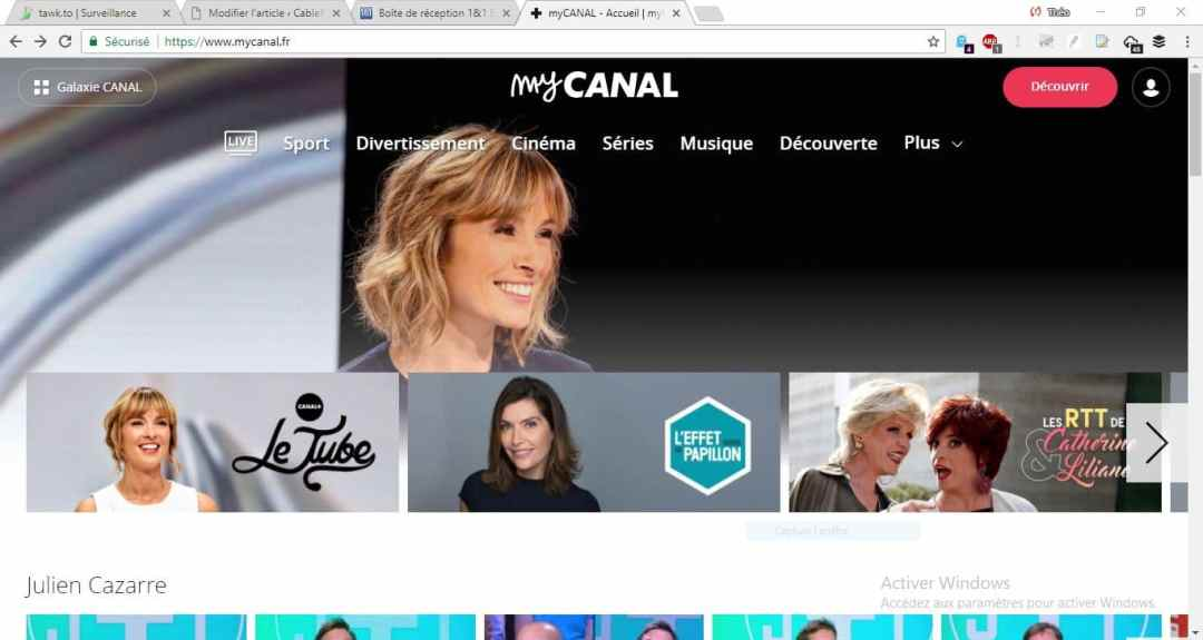 Start by Canal : MyCanal