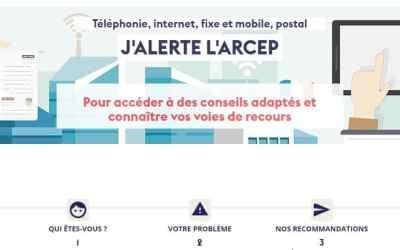 J'alerte l'ARCEP : déjà 12.600 plaintes déposées contre SFR, Free, Orange et Bouygues