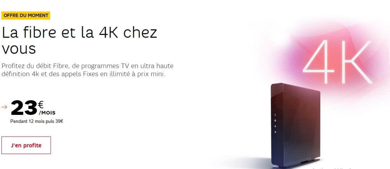 5 bonnes raisons de choisir l'offre Box Fibre Starter à 23€/mois de SFR