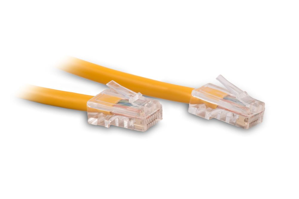 medium resolution of 10ft yellow cat6 ethernet network patch cable 550mhz