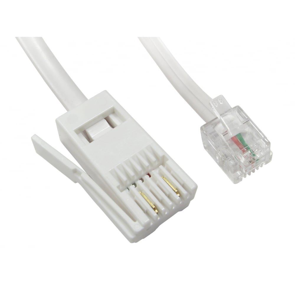 hight resolution of two wire rj11 male to bt male cable