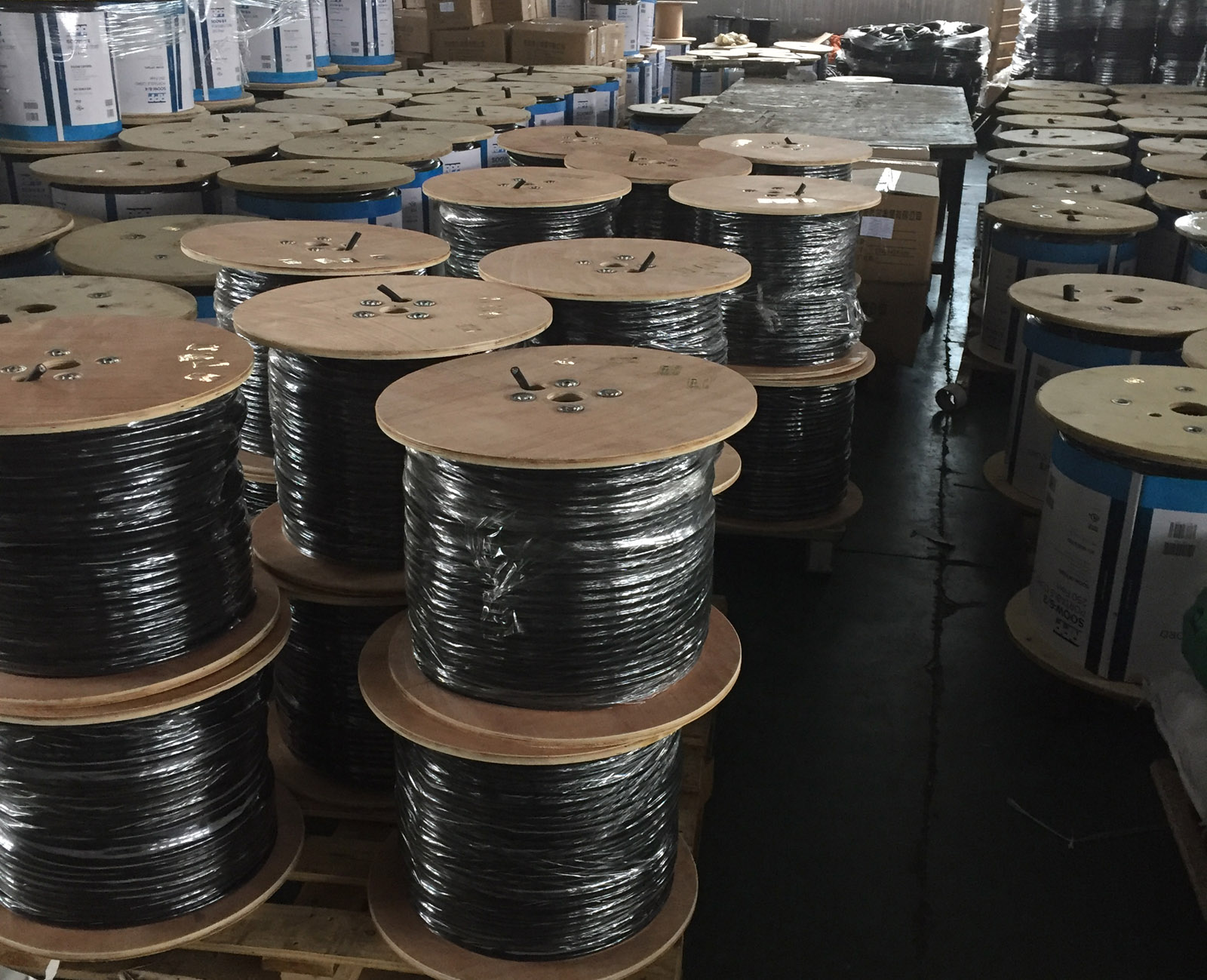 Bulk Power Cord Wire Roll