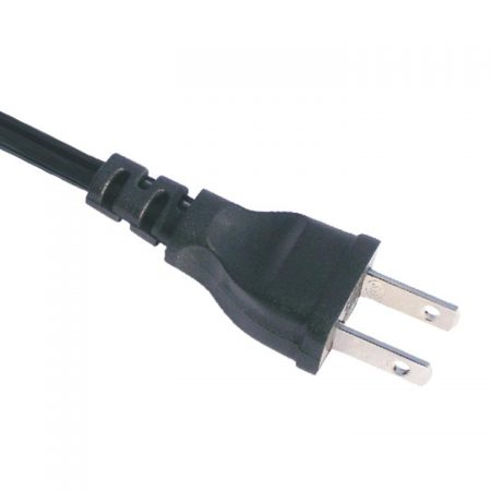 Japan Power Cord 7 Amp 2 Wire Low Profile Plug, JIS 8303 Standard,AC Power Supply Cords