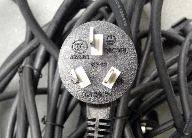 China AC plugs