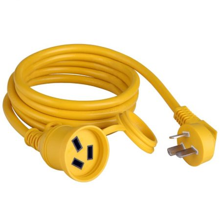 China Extension Cord Single Outlet 3-Wire