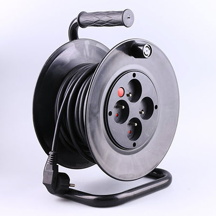 French Socket Cable reel