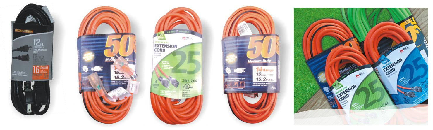 extension cord single package