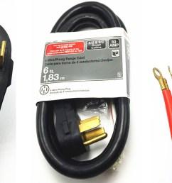 4 wire range cord 50 amp  [ 1381 x 777 Pixel ]