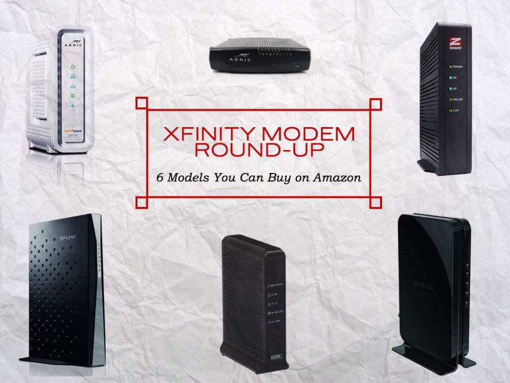 medium resolution of 6 modems that work with xfinity