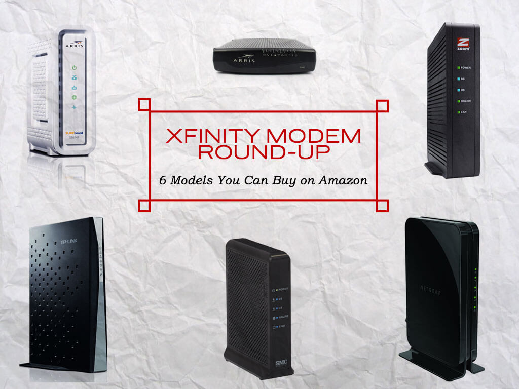 hight resolution of 6 modems that work with xfinity
