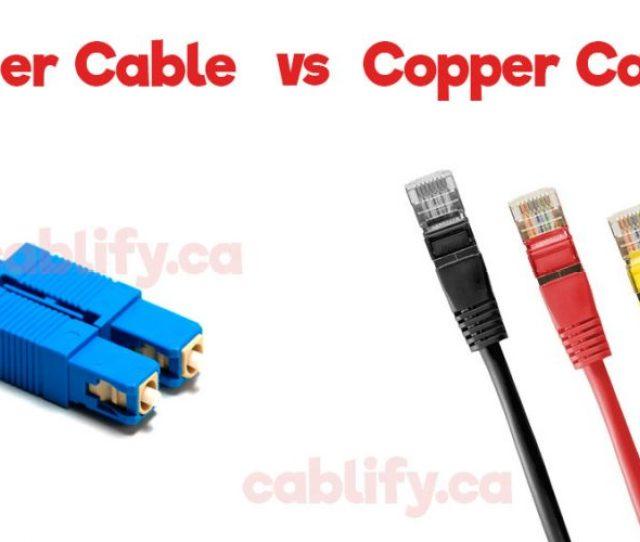 Fiber Vs Copper Cabling