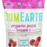 Candy & Chocolate-Yummy Earth Organic Vitamin C Pops