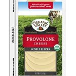 Dairy & Refrigerated-Organic Valley Provolone Cheese Slices, 8 ct