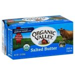 Dairy & Refrigerated-Organic Valley Salted Butter Quarters, Organic